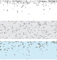 Backgrounds with bubbles vector image vector image