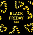 black friday calligraphic designs poster sale vector image vector image