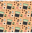 Coffee break seamless pattern vector image