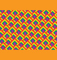 gay pride flag pattern vector image vector image