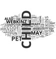 is your child ready for a webkins pet text vector image vector image