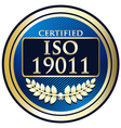 ISO 19011 vector image vector image