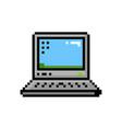 pixel style small laptop desktop 8 bit icon