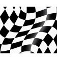 racing flag vector image vector image