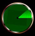 radar on colorado vector image