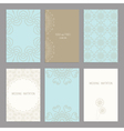 wedding cards vector image