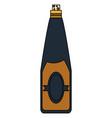 wine bottle icon image vector image vector image