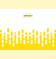 abstract of yellow color stripe patterns vector image vector image