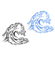 Big Sea Wave vector image vector image