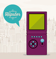 Hipster style design vector image vector image