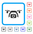 photo drone framed icon vector image vector image