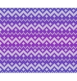 Purple knitted Scandinavian ornament seamless vector image