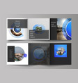 the minimal editable layout square vector image