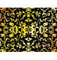 abstract damask background vector image vector image