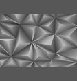 abstract gray triangle polygon pattern background vector image