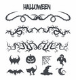 halloween decoration vector image