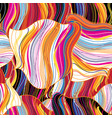 seamless bright abstract wavy pattern vector image vector image