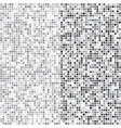 silver mosaic halftone abstract background vector image vector image