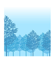 Forest Woods Background vector image
