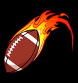 american football gridiron flaming black bground