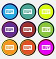 Buy Online buying dollar usd vector image
