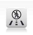 road icon vector image vector image