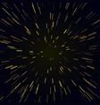 warp stars vector image vector image