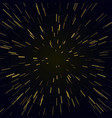 warp stars vector image