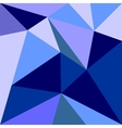 Blue triangle flat wrapping surface background vector image vector image
