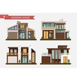flat traditional and modern vector image