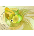 fruit abstract vector image vector image