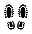 Imprint Shoes vector image vector image