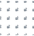 mp player icon pattern seamless white background vector image vector image