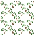 palms seamless isolated vector image vector image
