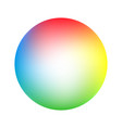 round soft color gradient vector image vector image
