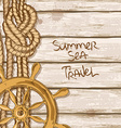 Ship boards of deck background vector image vector image