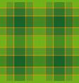 tartan seamless pattern background to st patricks vector image