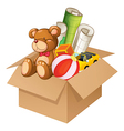 Toys in a box vector | Price: 1 Credit (USD $1)