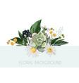 wedding invite design vector image