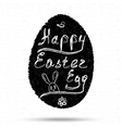 Doodles easter egg background vector image vector image