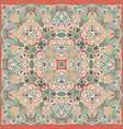 gentle colored handkerchief vector image vector image