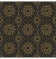 Gold vintage lace seamless ornament vector image vector image