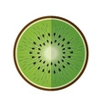 Healthy and organic food fruit icon vector image vector image