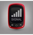 Red phone Signal vector image