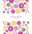 abstract textured bubbles vertical double vector image vector image