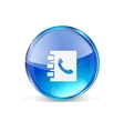 Icon Contact vector image