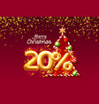 merry christmas sale 20 off ballon number