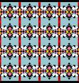 navajo print aztec seamless pattern geometric vector image vector image