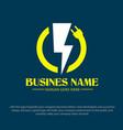 plug electric logo designs vector image