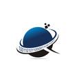programming internet logo design template vector image
